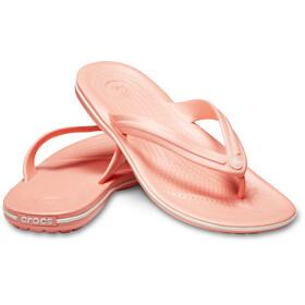 Crocs Crocband sandaalit, melon/white